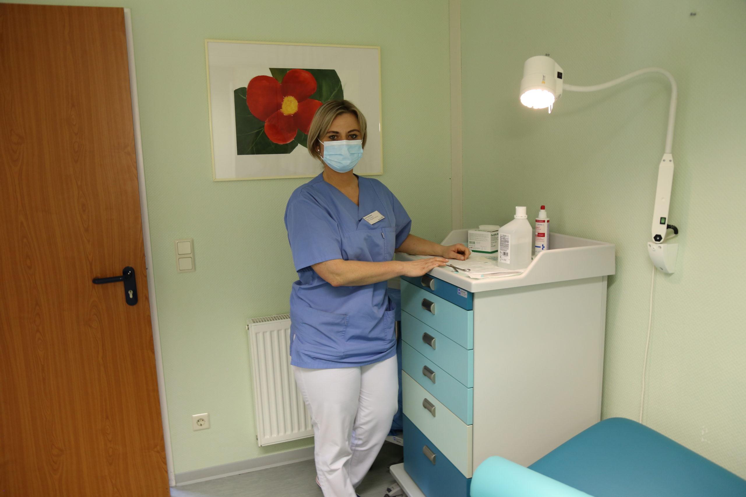 Gesundheits- und Krankenpflegerin Edyta Gudian
