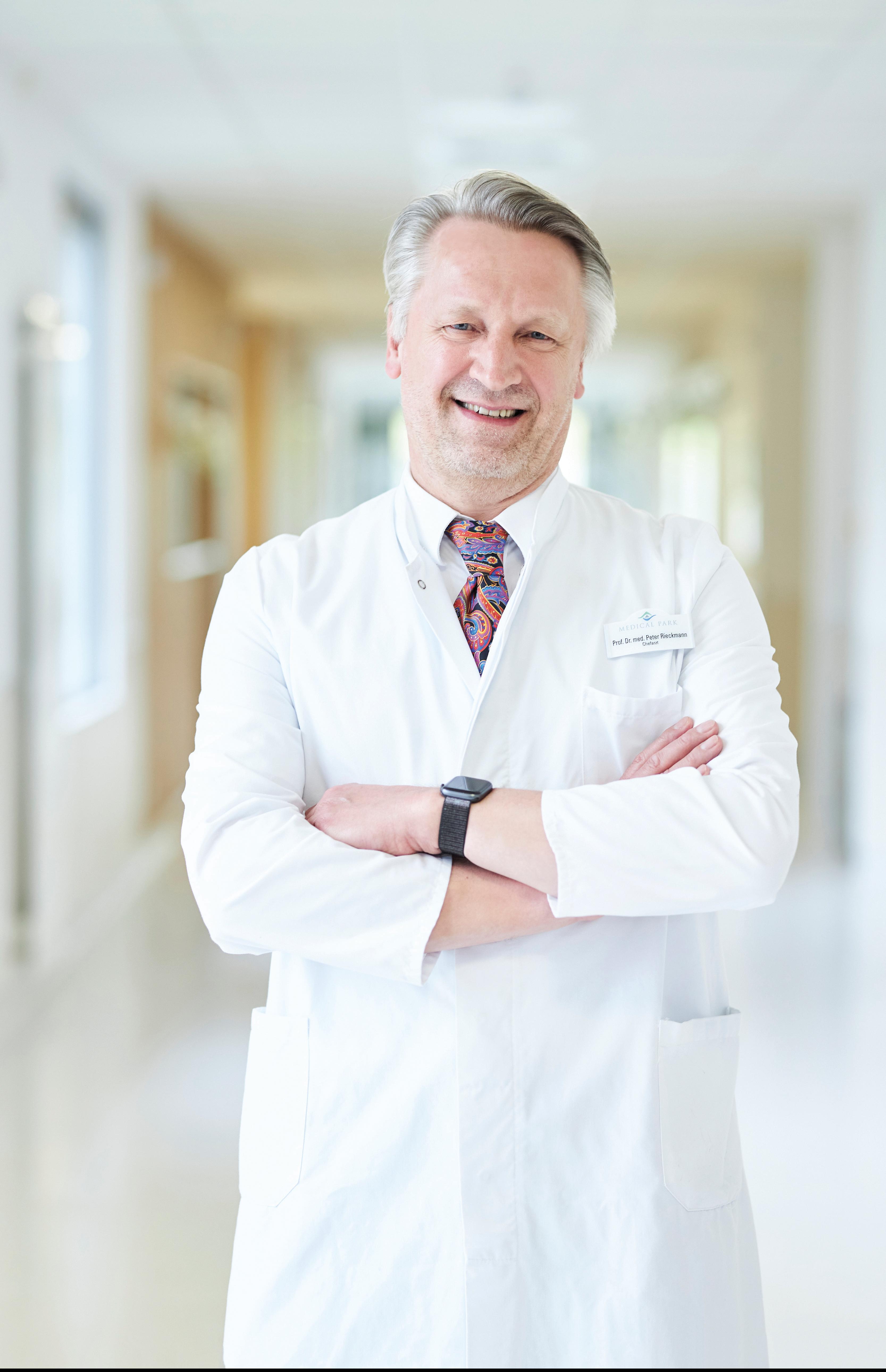 Prof. Dr. med. Peter Rieckmann, Chefarzt Neurologie Medical Park Loipl, Facharzt für Neurologie.