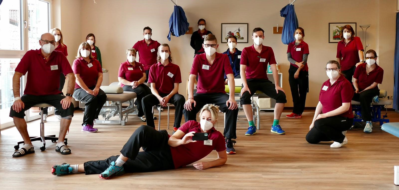 Das Therapeuten-Team der Asklepios Klinik Schaufling.