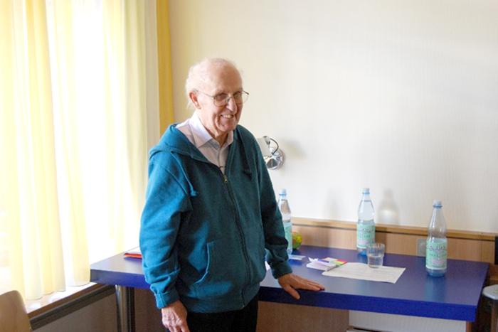 Abbildung: Siegfried Tribbensee in der Celenus Fachklinik Hilchenbach
